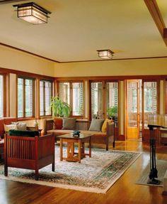 Bungalow Windows Craftsman Living Roomscraftsman Interiorcraftsman Style