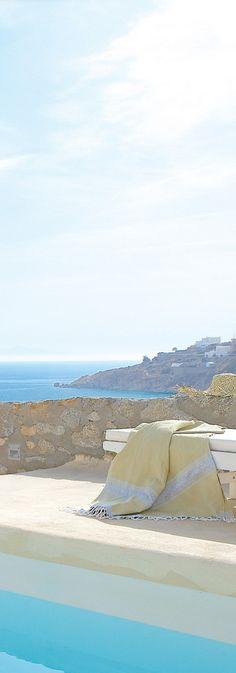 Mykonos Blu Resort - Greece.  ASPEN CREEK TRAVEL - karen@aspencreektravel.com