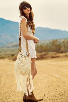 Spell Designs Shop: Havana Crochet Tassel Bag