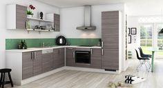 Køkken til det moderne parcelhus