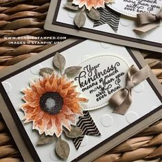 Stampin' Up! Painted Harvest