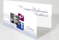 Einladungskarten Konfirmation bei my moments