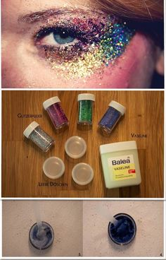 DIY-Glitter-Make-Up I will have to try this :)