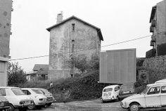 Final de la calle Euskal Herria, Algorta, años 80 (Colección Eugenio Gandiaga) (ref. 06100)