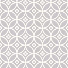 Daisy Chain Small (LF1012) - Layla Faye Wallpapers - An all over wallpaper design featuring a small scale, floral tile design. Shown here in the silver moon colourway. Other colourways are available. Please request a sample for a true colour match. Paste-the-wall product.