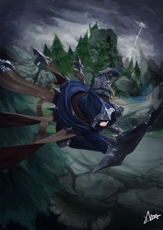 League of Legends - Talon League Of Legends Talon, Champions League Of Legends, Riot Games, Otaku, Tokyo Ghoul, Iphone Wallpaper, Fantasy Art, Video Game, Funny Pictures