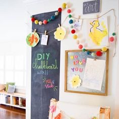Kassa chalk markers are perfect for your DIY chalkboard.