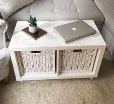 Wie Ihr Aus Einem Einfachen Kallax Regal Einen Stylischen Wohnzimmertisch  Baut, Erfahrt Ihr In Diesem