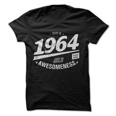 1964 awesomeness T Shirts, Hoodies. Check price ==► https://www.sunfrog.com/Birth-Years/1964-awesomness.html?41382 $19
