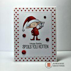 Rowhouse Greetings   Christmas   Santa's Elves by My Favorite Things