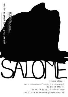 Salome. Opera Geneve -Art by. Jean Charles Blais