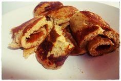 Panqueca de Bolacha de Arroz (Rice Cakes)