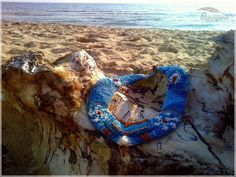 Beaded necklace Indian Sea by PapagenaHmz on Etsy