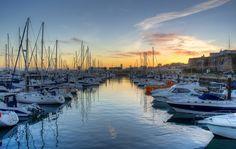Marina de Cascais at Sunset - Fotografia Cascais