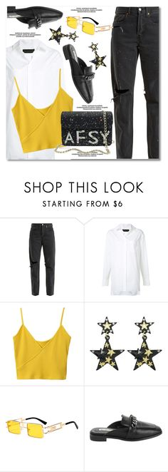 """""""Twinkle, Twinkle: Star Outfits"""" by paculi ❤ liked on Polyvore featuring RE/DONE, Alexandre Vauthier and StarOutfits"""