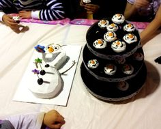disney frozen olaf birthday cake | Cake Tutorial: Olaf from Disney's Frozen | Life, Love and the ...