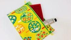 主婦のミシン、DIY.裏付き折りマチポーチの作り方 - YouTube Coin Purse, Purses, Sewing, Fabric, Bags, Youtube, Cosmetic Bag, Sachets, Zippers