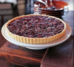 Gooey and sticky sweet, pecan pie is the quintessential Southern dessert. Here it is transformed into a buttery tart that requires less sugar than the original but preserves the crisp top layer of nuts. A shot of bourbon is added for good measure. Bourbon Pecan Tart - Williams-Sonoma
