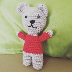FREE PATTERN ALERT due to popular demand Barry the Bear's pattern is now available from my blog. Get hooking!!!!! #blog #amigurumi #babygift #craft #handmade #freepattern #freecrochetpattern #institches #lizzieinstitches #teddybear #crochet #etsy #etsyuk by lizzieinstitches