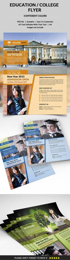 Education Flyer Template - http://www.codegrape.com/item/education-flyer-template/5152