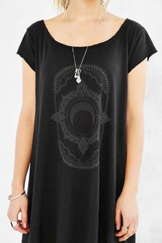Truly Madly Deeply Mystic Fortune Swingy T-Shirt Dress