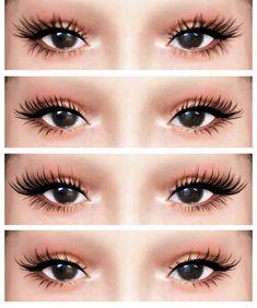 3 D L a s h e s V 4 by dream-girl - The Sims 4 Download - SimsDomination Sims 4 Body Mods, Sims 4 Game Mods, Sims Mods, Sims 4 Cc Eyes, Sims 4 Mm Cc, Maxis, Vêtement Harris Tweed, The Sims 4 Skin, Sims 4 Black Hair
