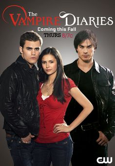 Season One The Vampire Diaries Wiki Episode Guide Cast Characters TV Series Novels and more! I Love Series, Tv Series To Watch, Movies And Series, Cw Series, Best Series, Movies And Tv Shows, Serie The Vampire Diaries, Vampire Diaries Seasons, Vampire Diaries The Originals