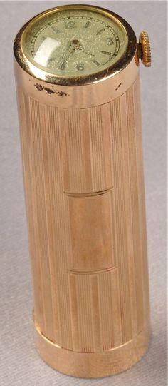 14kt Gold Lipstick Case
