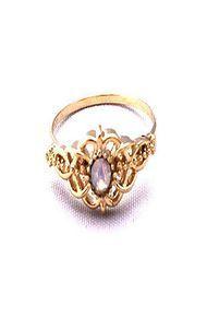 FabuLyss The Opal Filigree Ring