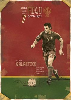 Luis Figo Poster