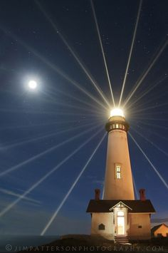 Light Source: Pigeon Point Lighthouse, San Mateo County, California by © Jim Patterson Photography via Flickr.com