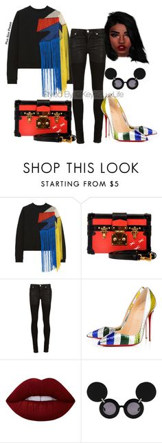 """Plus Size Please"" by keys2luxlife on Polyvore featuring Christopher Kane, Louis Vuitton, Alyx, Linda Farrow, Beauty, plussize and PlusSizePlease"