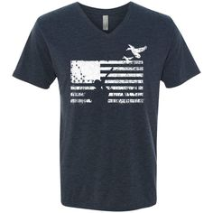 Men's Next Level Triblend V-Neck Tee