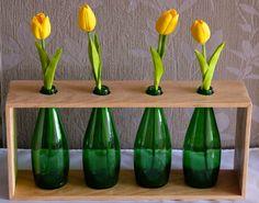 Geri dönüşüm şişe vazo Zet.com'da 125 TL