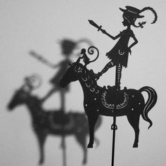 Shadow puppets by Isabella Art.