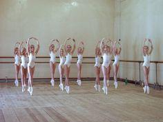 Ballerina's in training