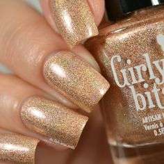 Sun Dog is a light golden copper shimmolo, with bronze micro flakes and copper shimmer. Available Aug 6-10, then Aug 24 for a final restock.