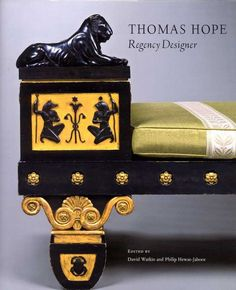 Thomas Hope Regency Furniture. His influences include classical antiquity and Napolean's architects, Percier and Fontaine