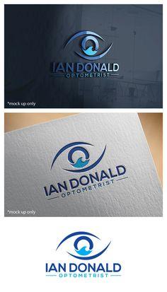 Ian Donald Optometrist needs a logo design Upmarket, Serious Logo Design by Bluemedia