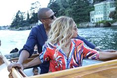 Beyonce and jay z in Europe