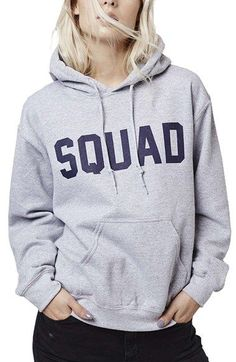 Design your own #squad hoodie.