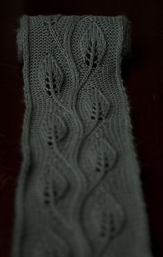 Daphne scarf (free pattern, Ravelry) (try doubling or tripling for shawl) - SO gorgeous!
