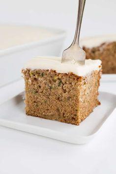 Moist Zucchini Cake Recipe