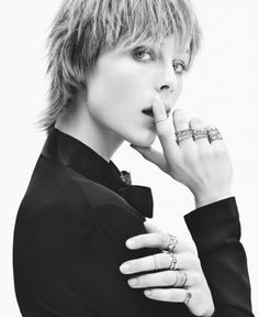 CAMPAIGNS WE LOVE: EDIE CAMPBELL FOR TIFFANY & CO. SS/15 BY DANIEL JACKSON
