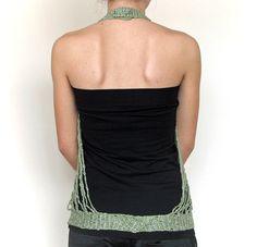 Ganchillo accesorio en verde y plata por nnermin en Etsy