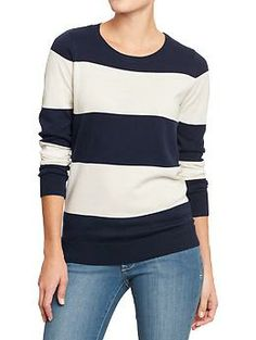 Womens Printed Crew-Neck Sweaters (Old Navy) ($29.94)