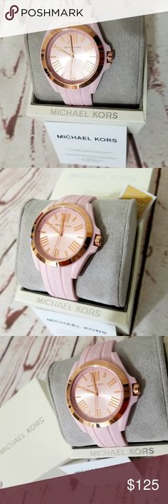 60af1228e238 Michael Kors Bradshaw Silicone Watch MK2732    100% GUARANTEED AUTHENTIC OR  YOUR MONEY
