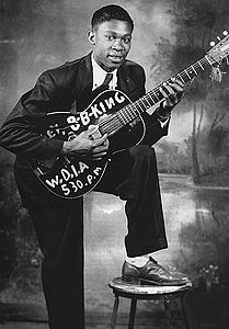 "BB King..."" I'm gonna play this thang till the day i die"""
