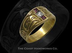 North West Coast Native Haida Art Engraving from The Coast Handworks Co. - The Coast Handworks Co.