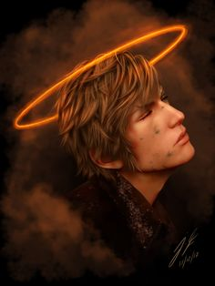 'Episode Ignis : Divine sacrifice' Greeting Card by Joshua Fortier Final Fantasy Xv, Fantasy Art, Noctis, Fan Art, Aesthetic Backgrounds, Down Hairstyles, Finals, Character Art, Video Games